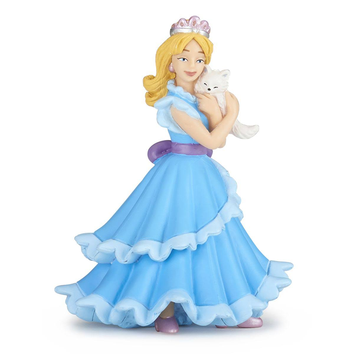 Papo Tales and Legends Blue Princess with Cat Toy Figure