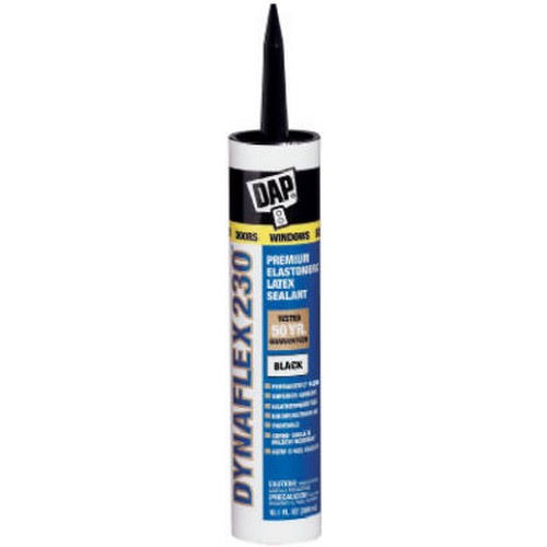 DAP 18280 Dynaflex 230 Premium Sealant - 10.1oz, Indoor and Outdoor