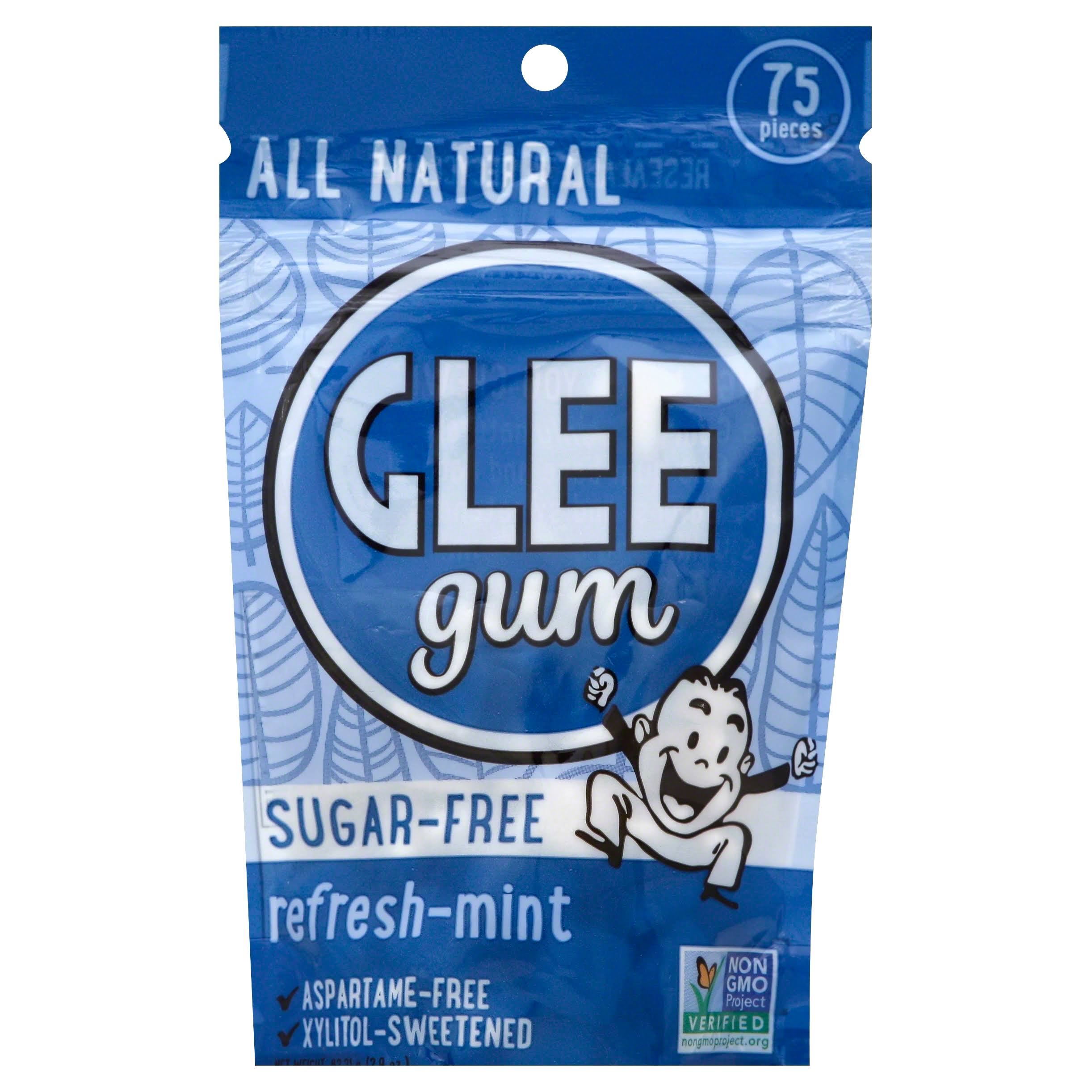 Glee Gum Sugar Free Chewing Gum - 75 Pieces