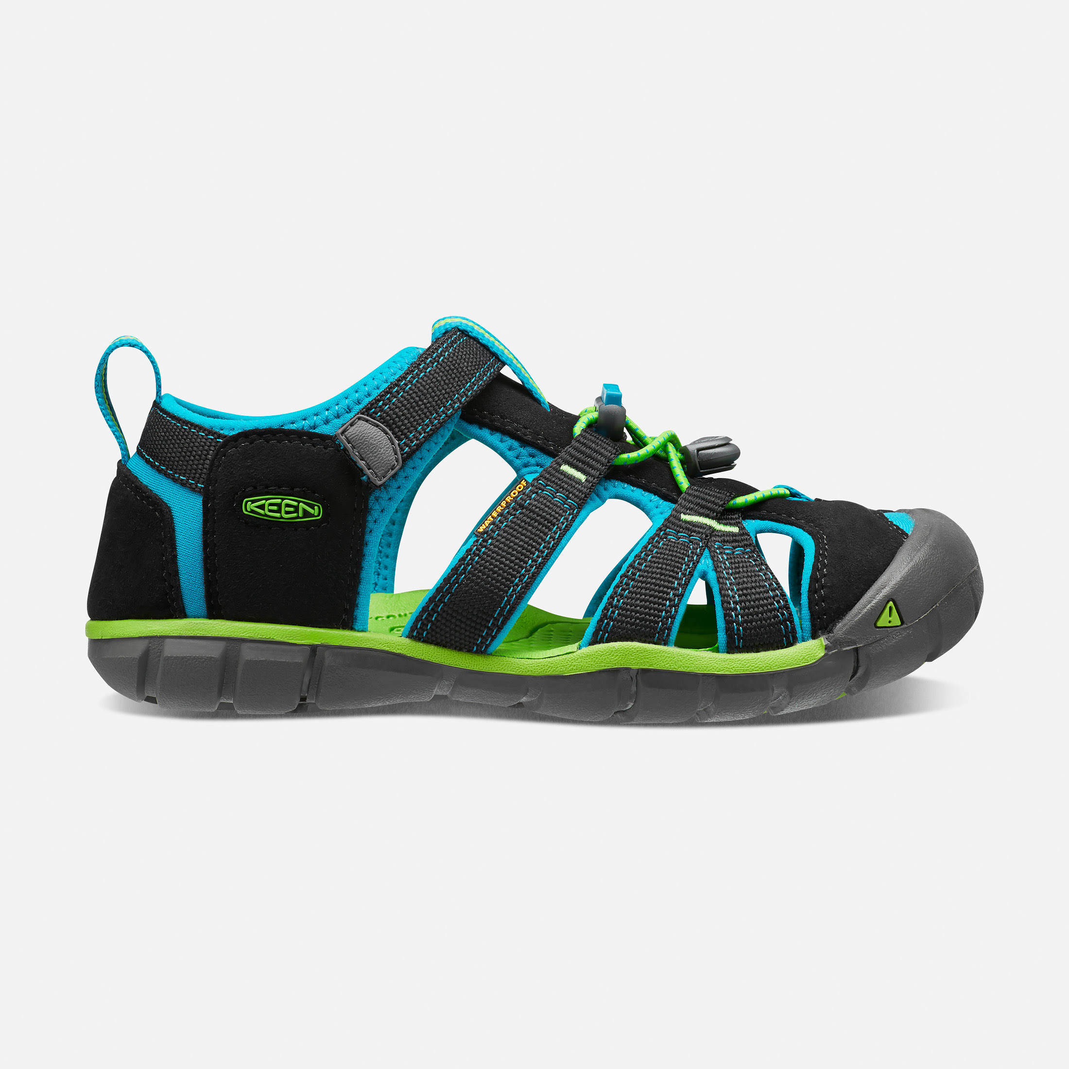 Keen Seacamp II CNX Sandals Black 3 Kids