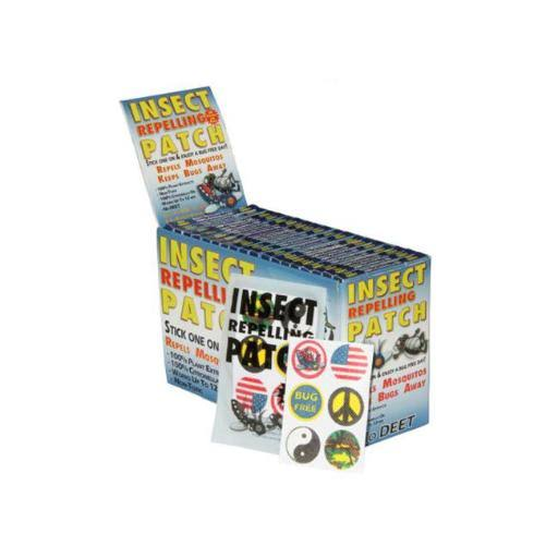 Bulk Buys Insect Repelling Patch Countertop Display