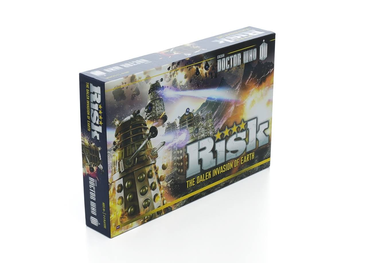 Risk Doctor Who Edition The Dalek Armies Invasion of Earth