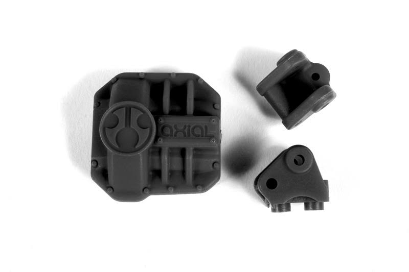 Axial AX31437 AR44 Diff Cover & Link Mounts - Black