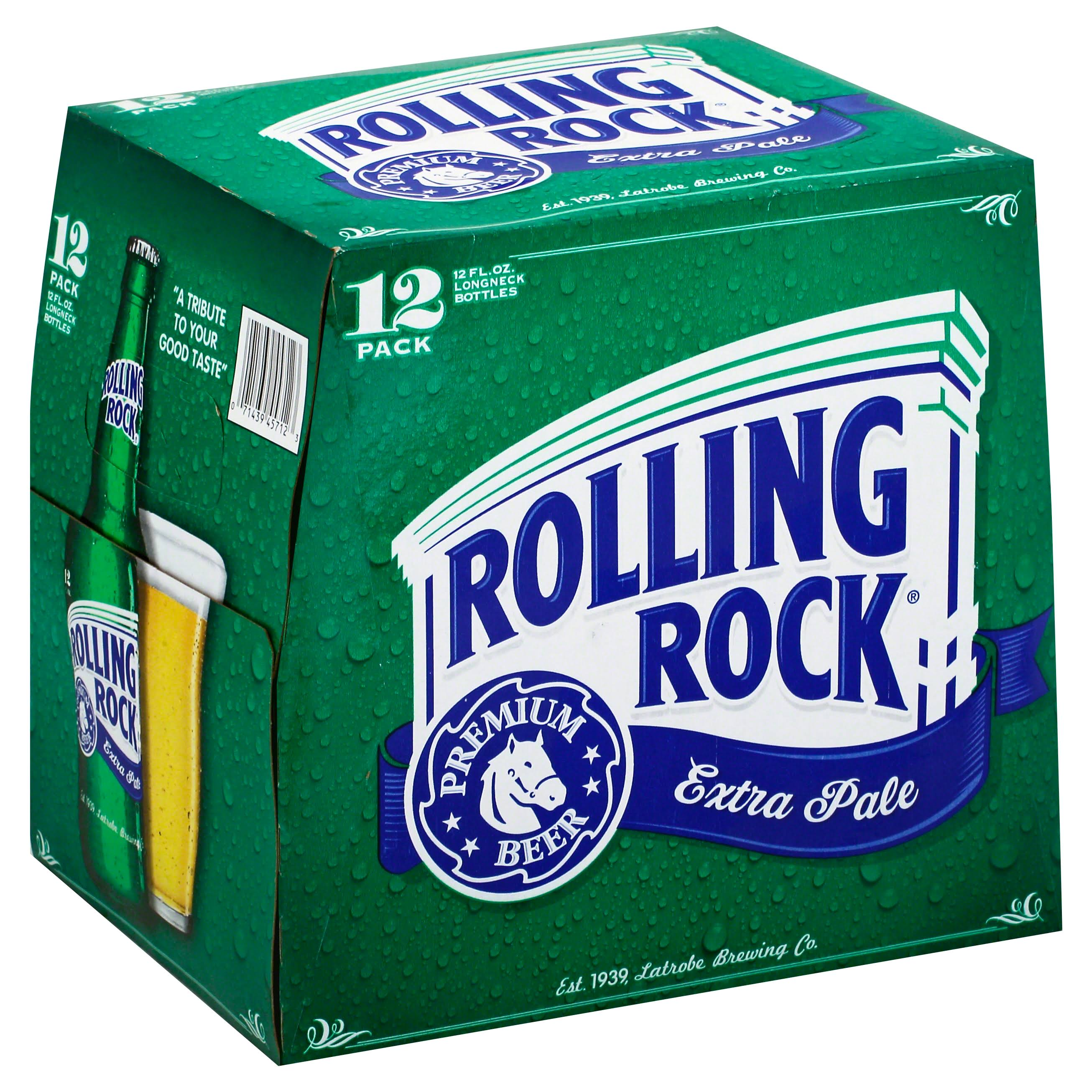 Rolling Rock Extra Pale Premium Beer - 12 Pack