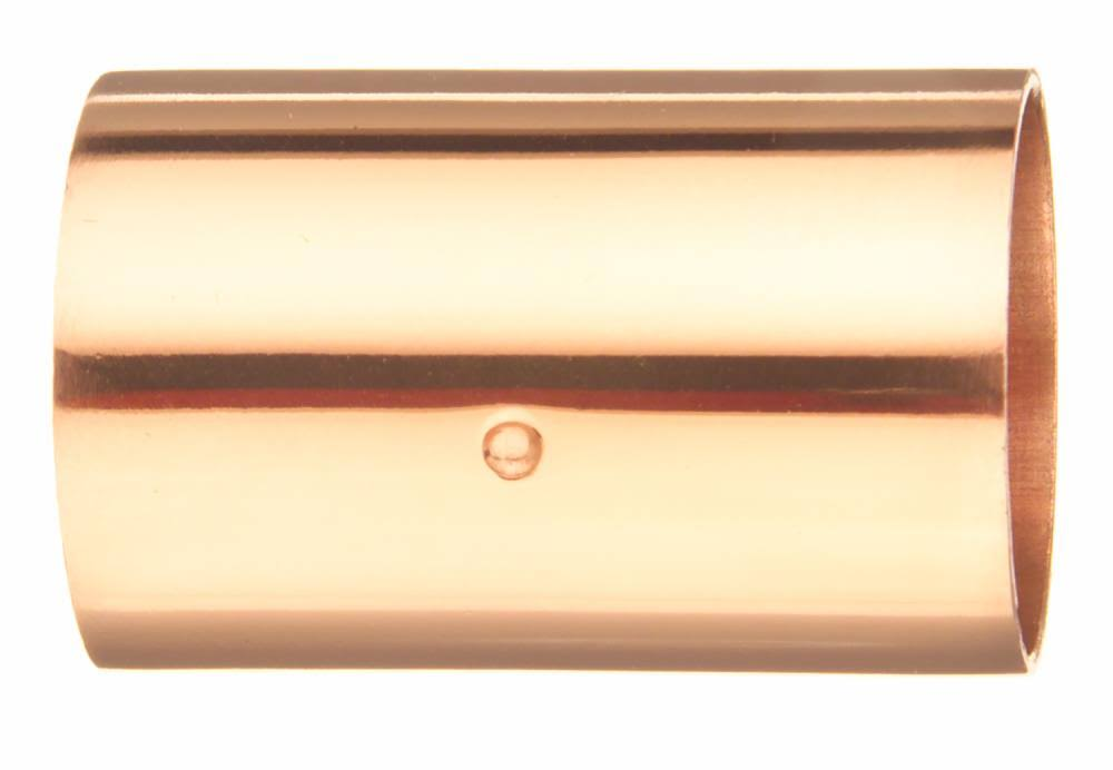 Elkhart Copper Coupling with Stop