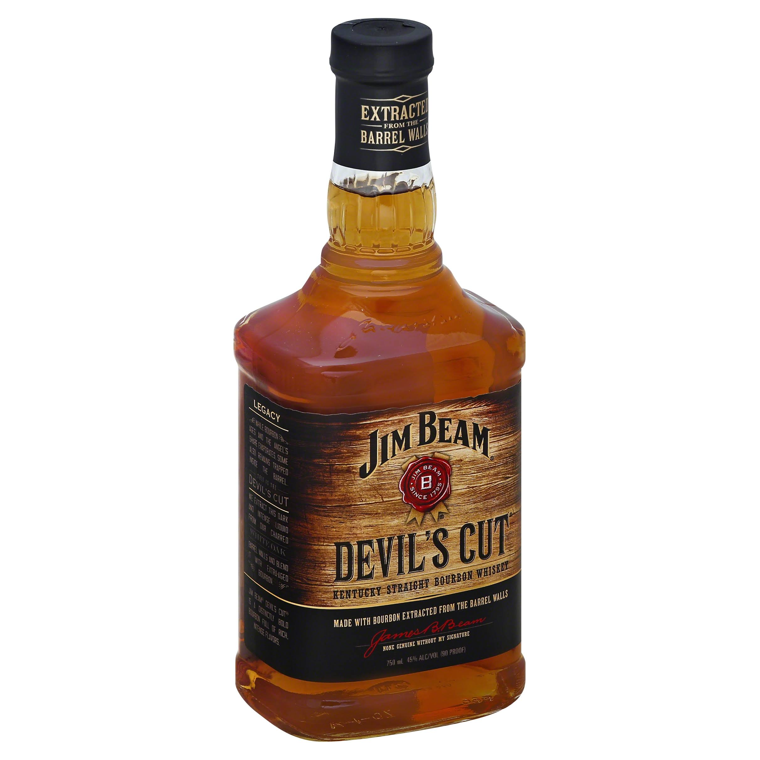 Jim Beam Devil's Cut Bourbon - 750ml