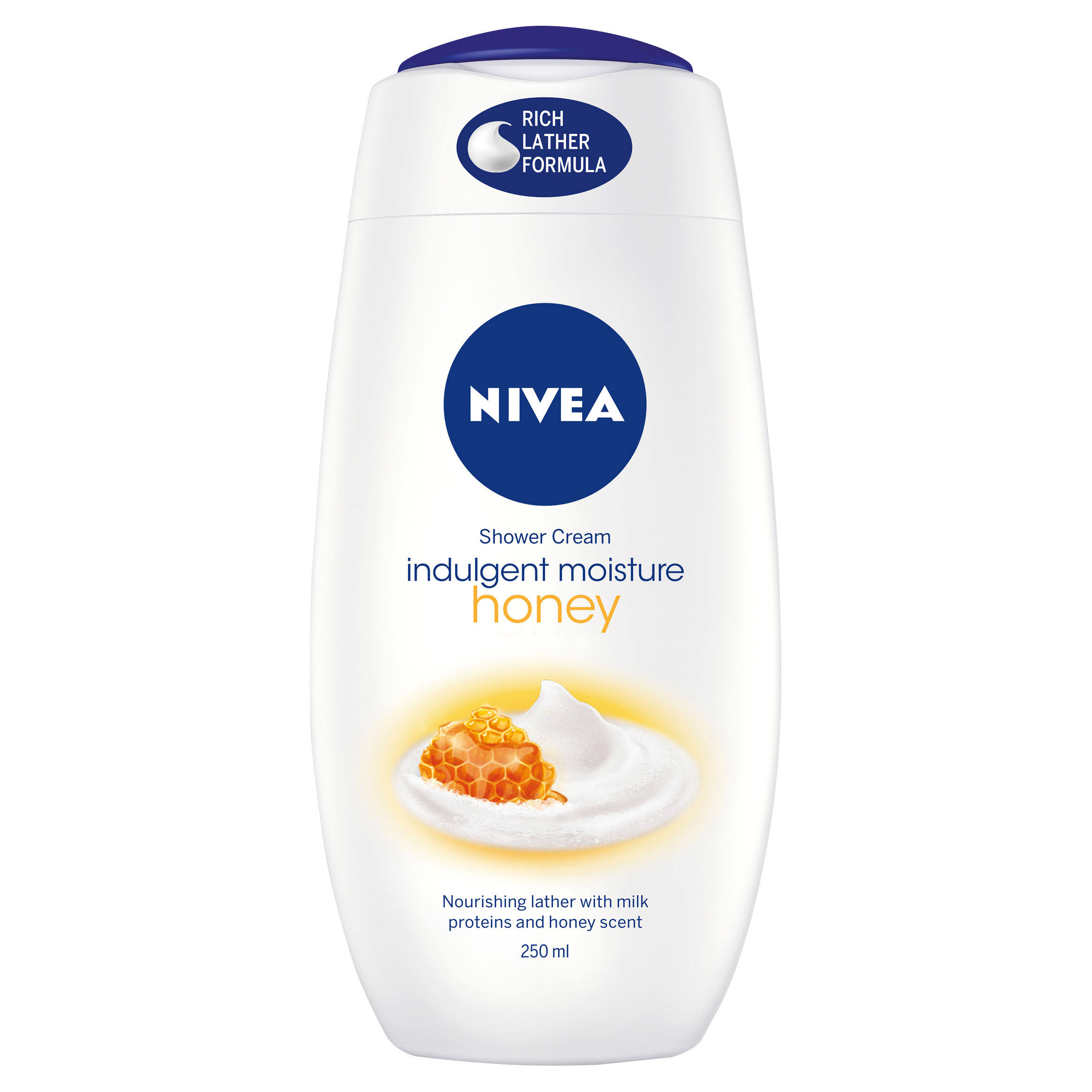 Nivea Honey & Milk Shower Cream - 250ml
