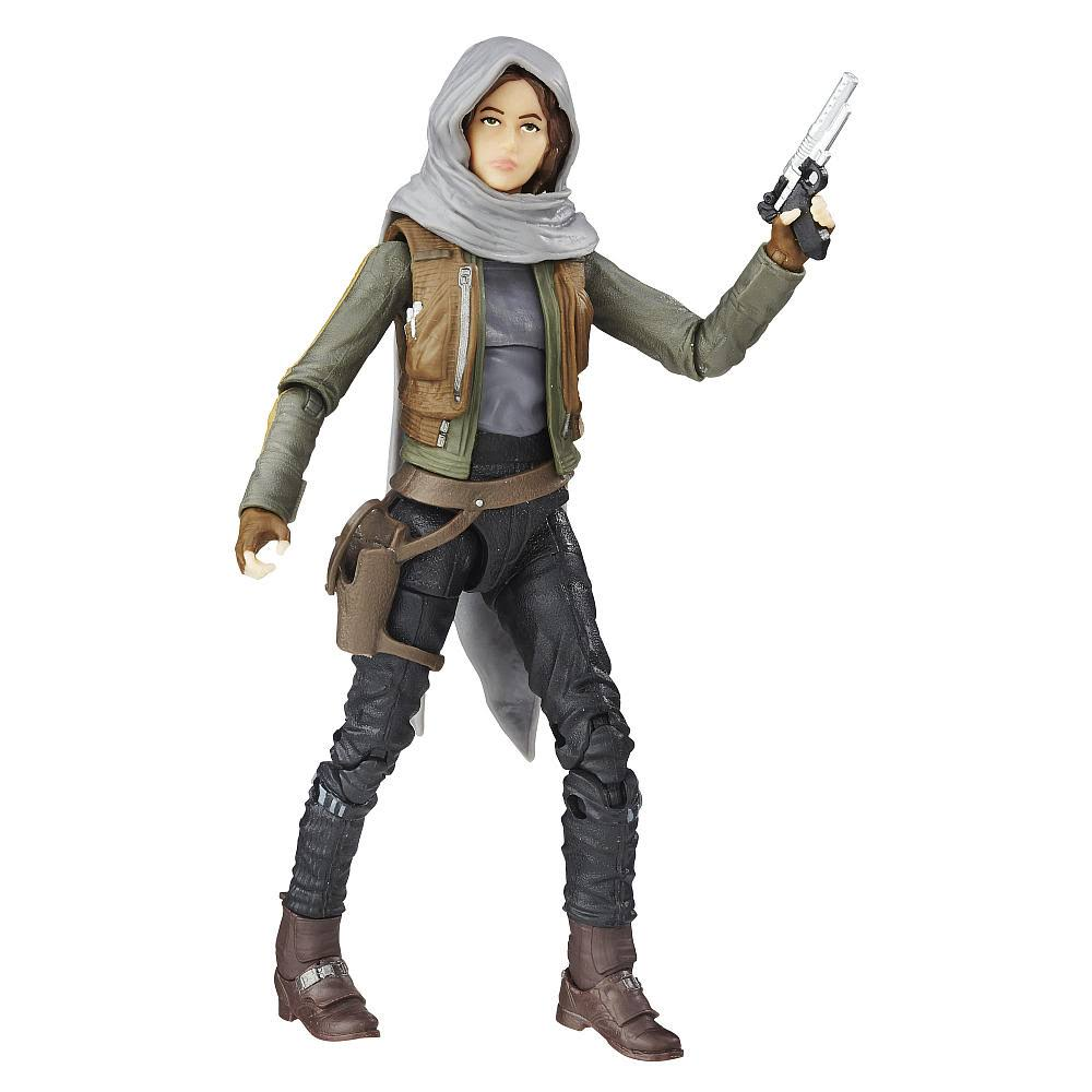 Star Wars Black Series Rogue One Jyn Erso Jedha Action Figure - 6""