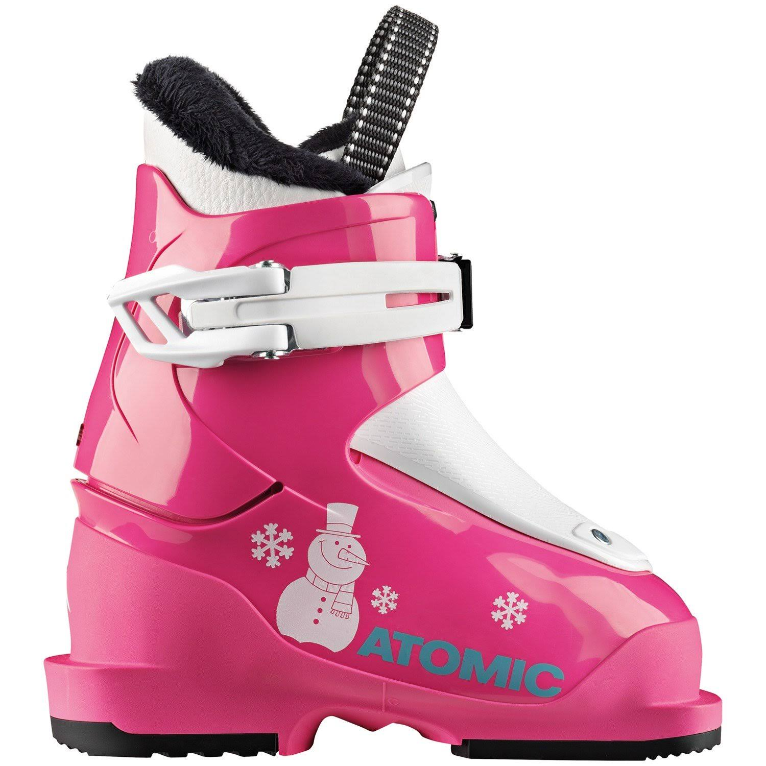 Atomic Hawx Girl 1 Girls Ski Boots 2020 Pink-White 16.0
