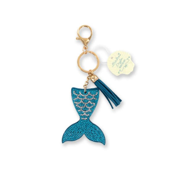 DM Merchandising Mermaid Tail Sparkling Keychain