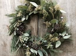 Pine Cone Christmas Trees For Sale by Christmas 2014 11 Best Real Wreaths The Independent