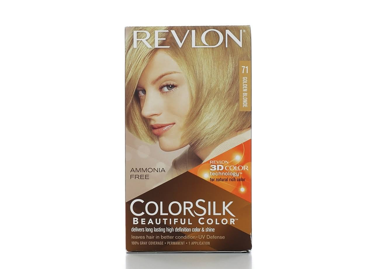 Revlon Colorsilk Hair Color - 71 Golden Blonde