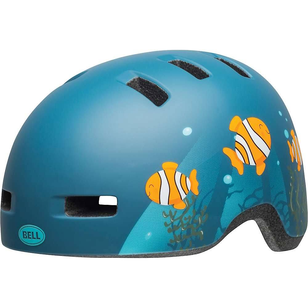 Bell Lil Ripper Helmet Toddler Matte Grey-Blue