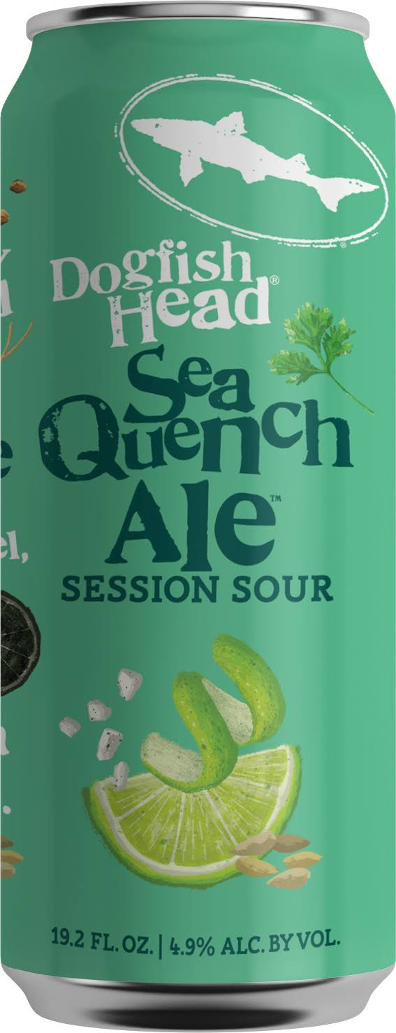 Dogfish Head Beer, Ale, Sea Quench, Session Sour - 19.2 fl oz