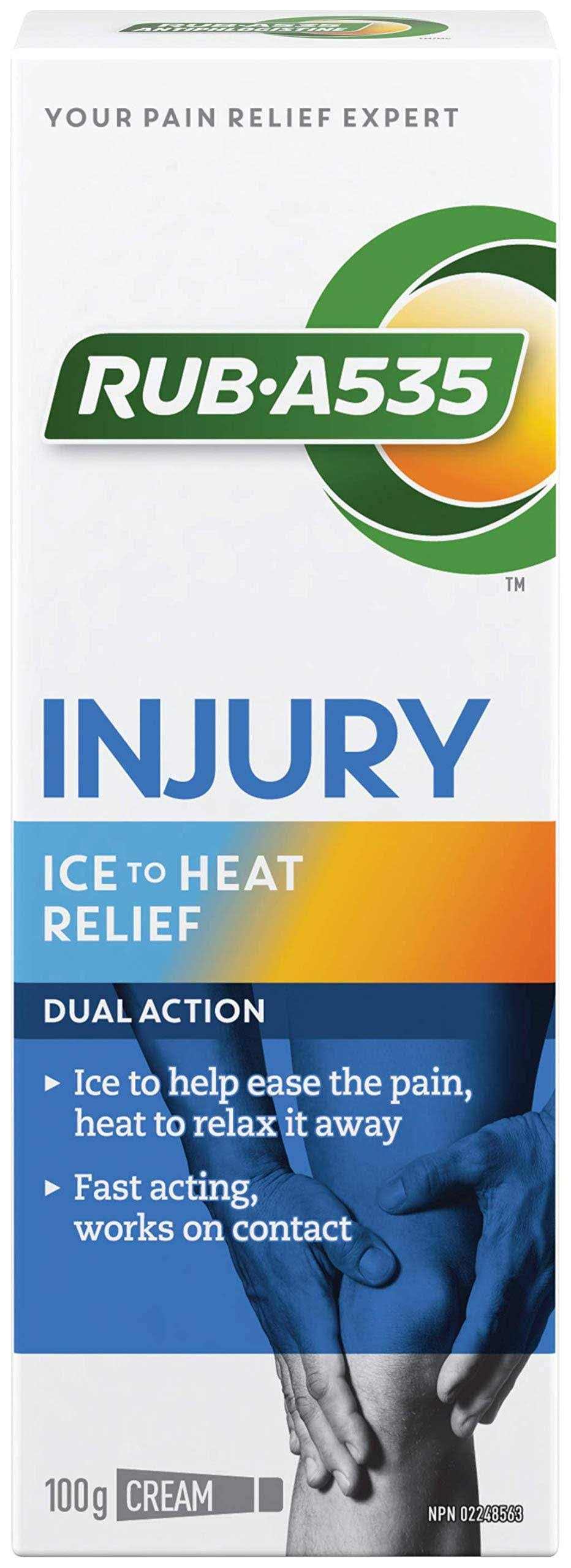 Rub A535 Dual Action Cream Muscle & Joint Pain Relief - 100g