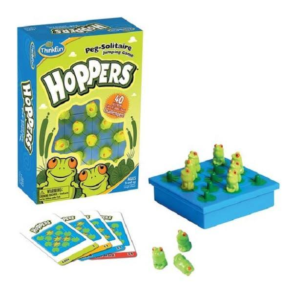 ThinkFun Hoppers Junior Logic Game