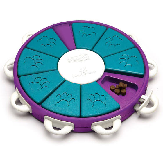 Dog Twister Treat Dispensing Brain and Exercise Game for Dogs