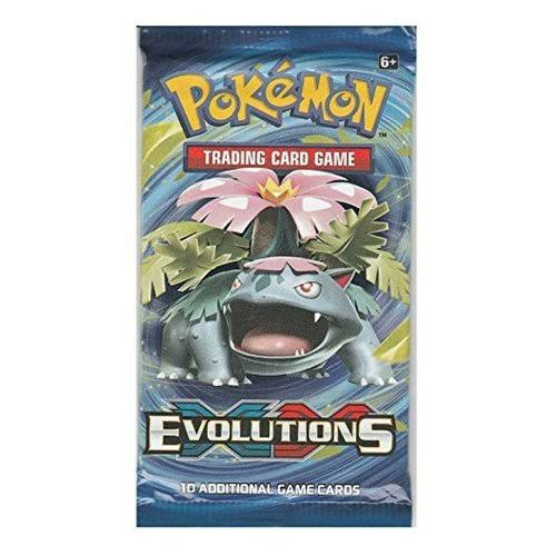 Pokemon TCG XY12 Evolutions Trading Card Boosters - 36 pack
