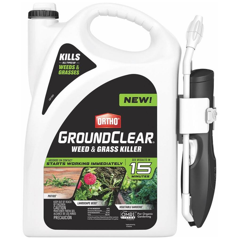 Ortho 4613264 GroundClear Weed & Grass Killer, Gallon