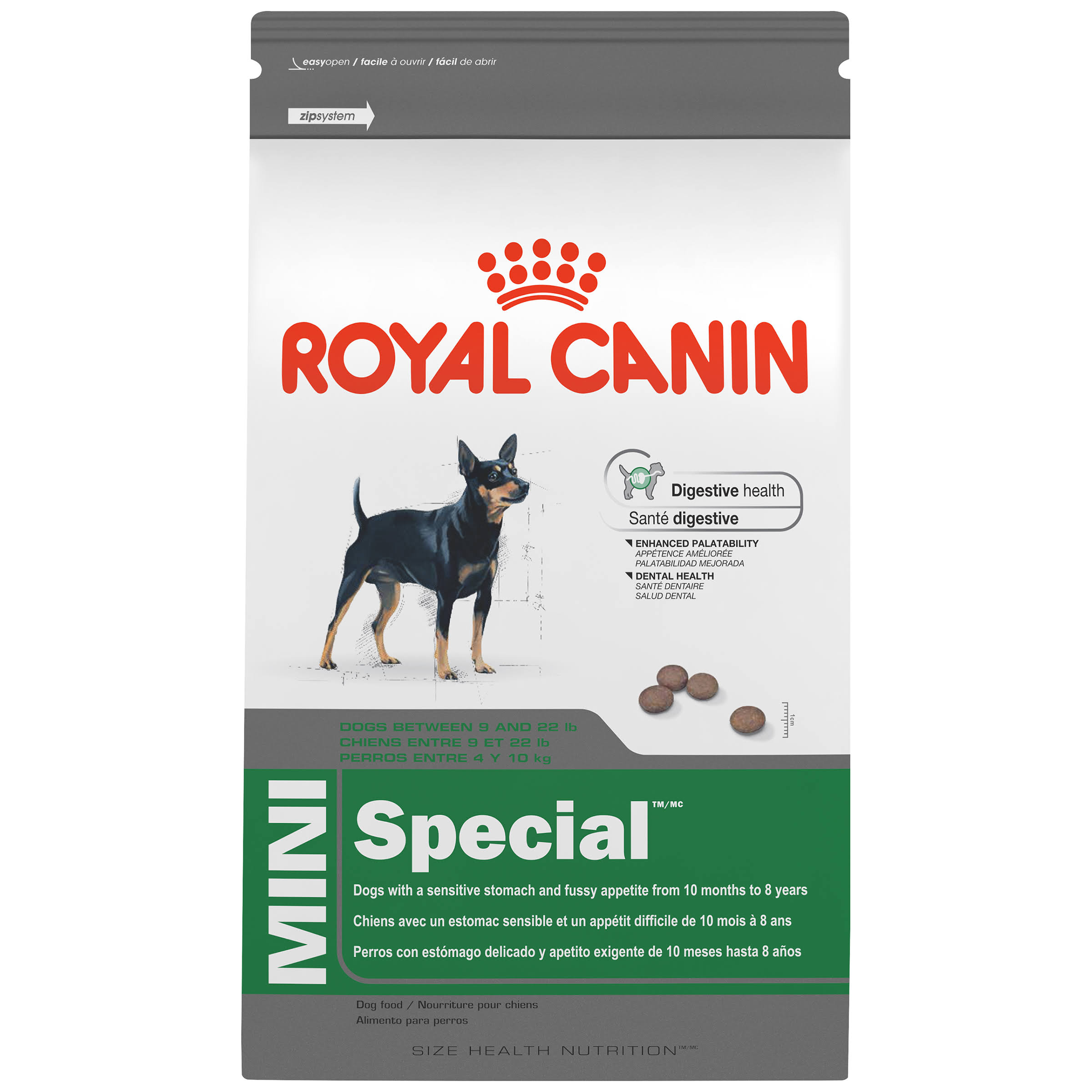 Royal Canin Rl45104 Size Health Nutrition Mini Special Dry Dog Food - 3.5lbs
