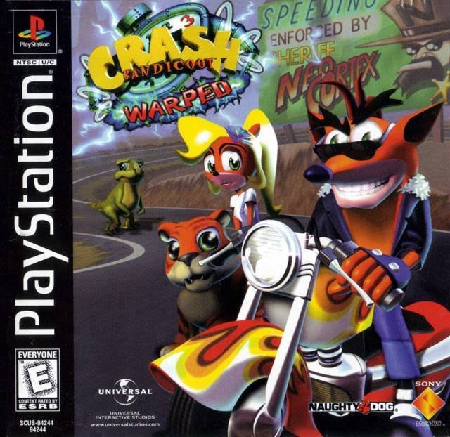 Crash Bandicoot 3: Warped - PlayStation 1