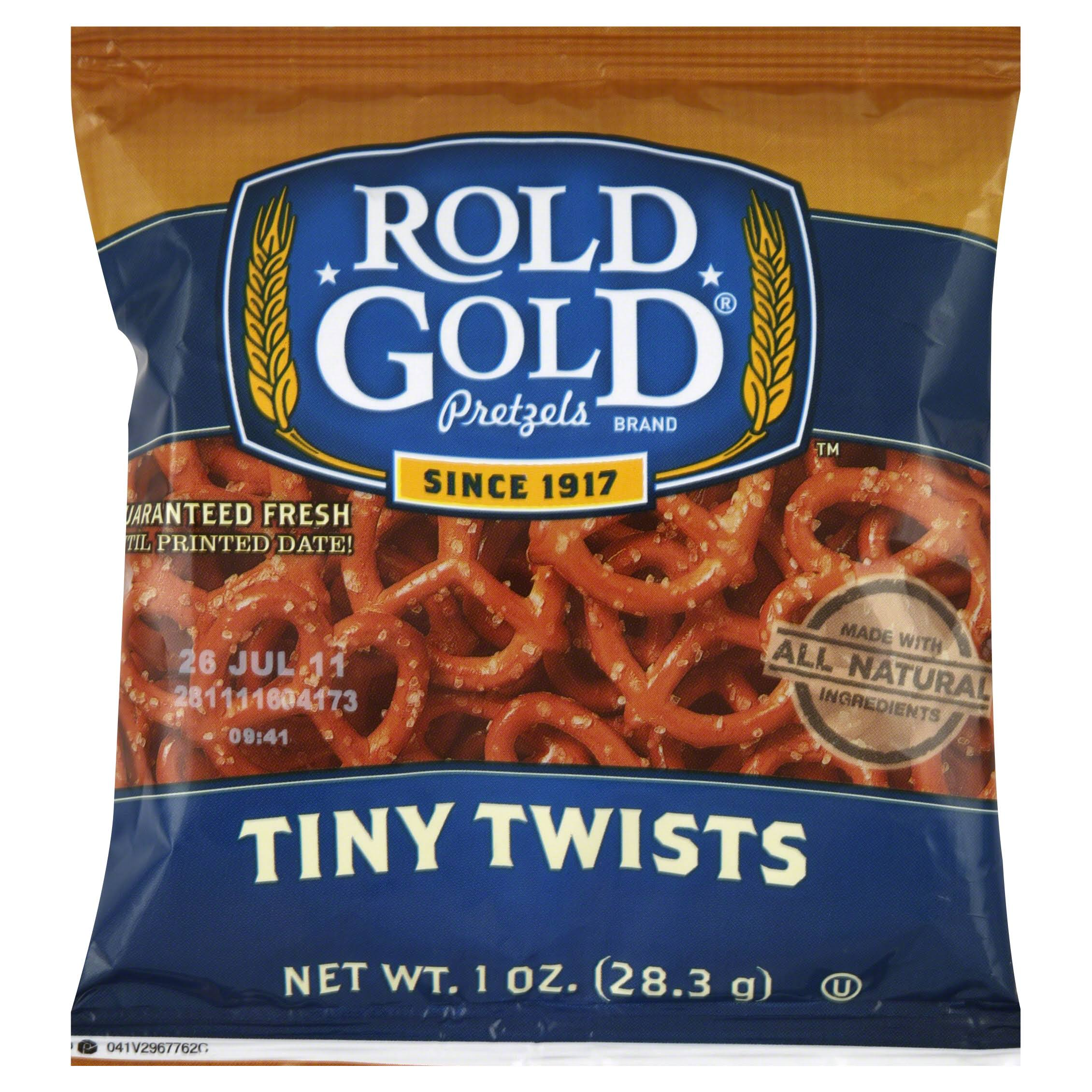 Rold Gold Tiny Twists Pretzels - Original, 1oz