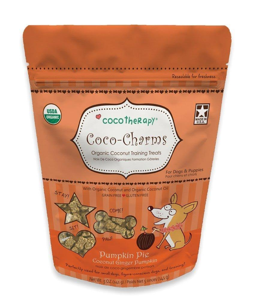 CocoTherapy Coco-Charms Training Treats 5oz, Pumpkin Pie