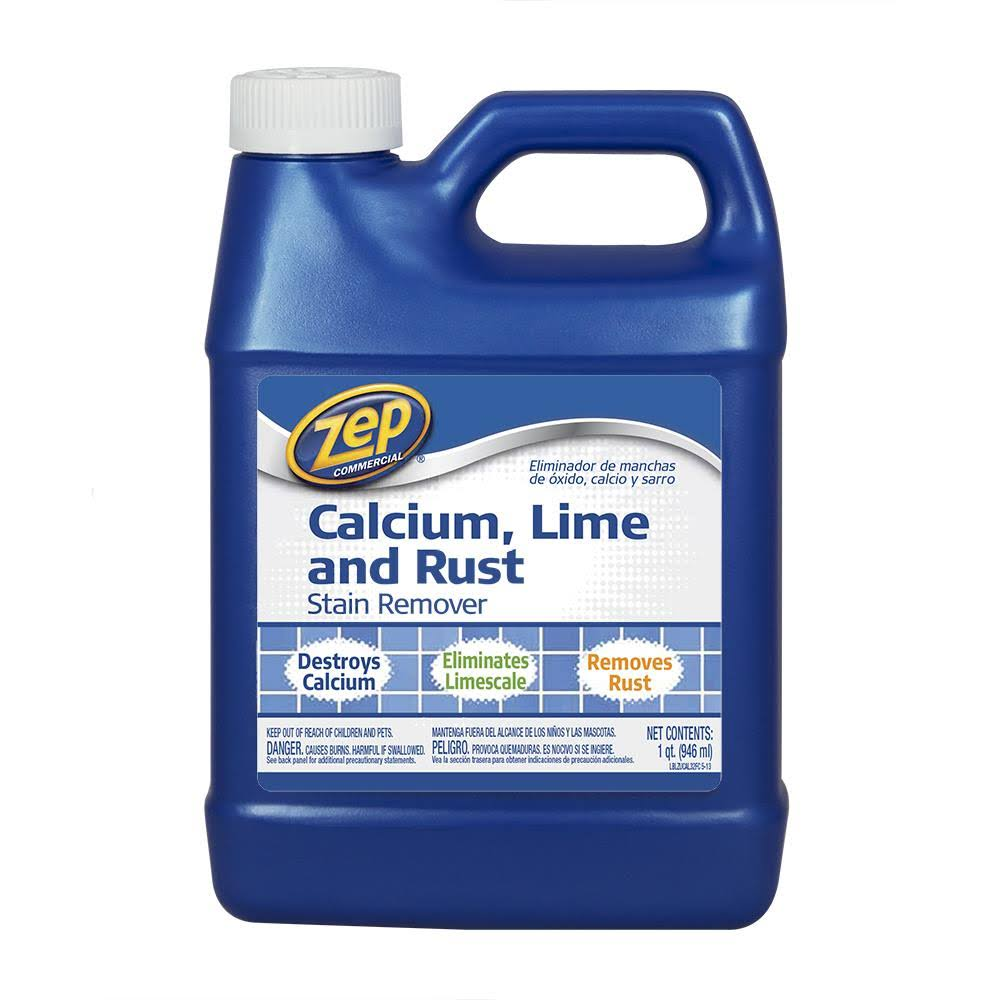 Zep Commercial ZUCAL32 Calcium Lime and Rust Remover - 32oz