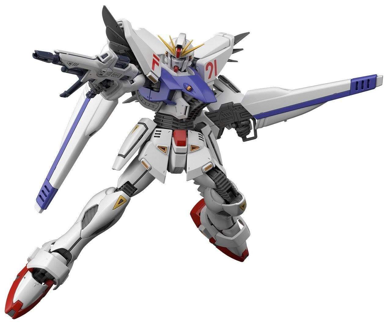 Bandai MG Gundam F91 Model Kit - Scale 1:100
