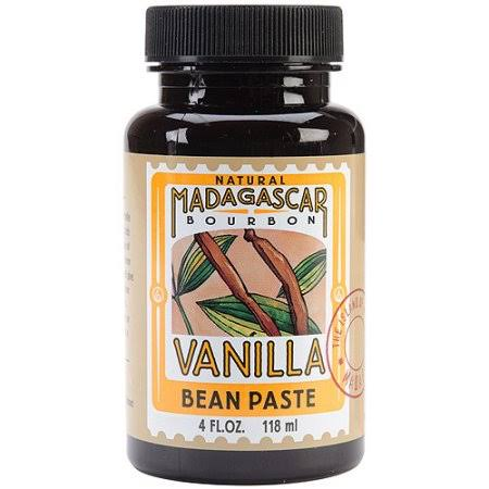 Lorann Extracts Natural Madagascar Bean Paste - Vanilla, 4oz, 3pk