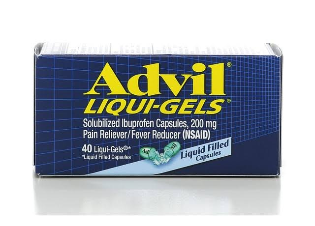 Advil Liqui Gels Liquid Filled Capsules - 40ct