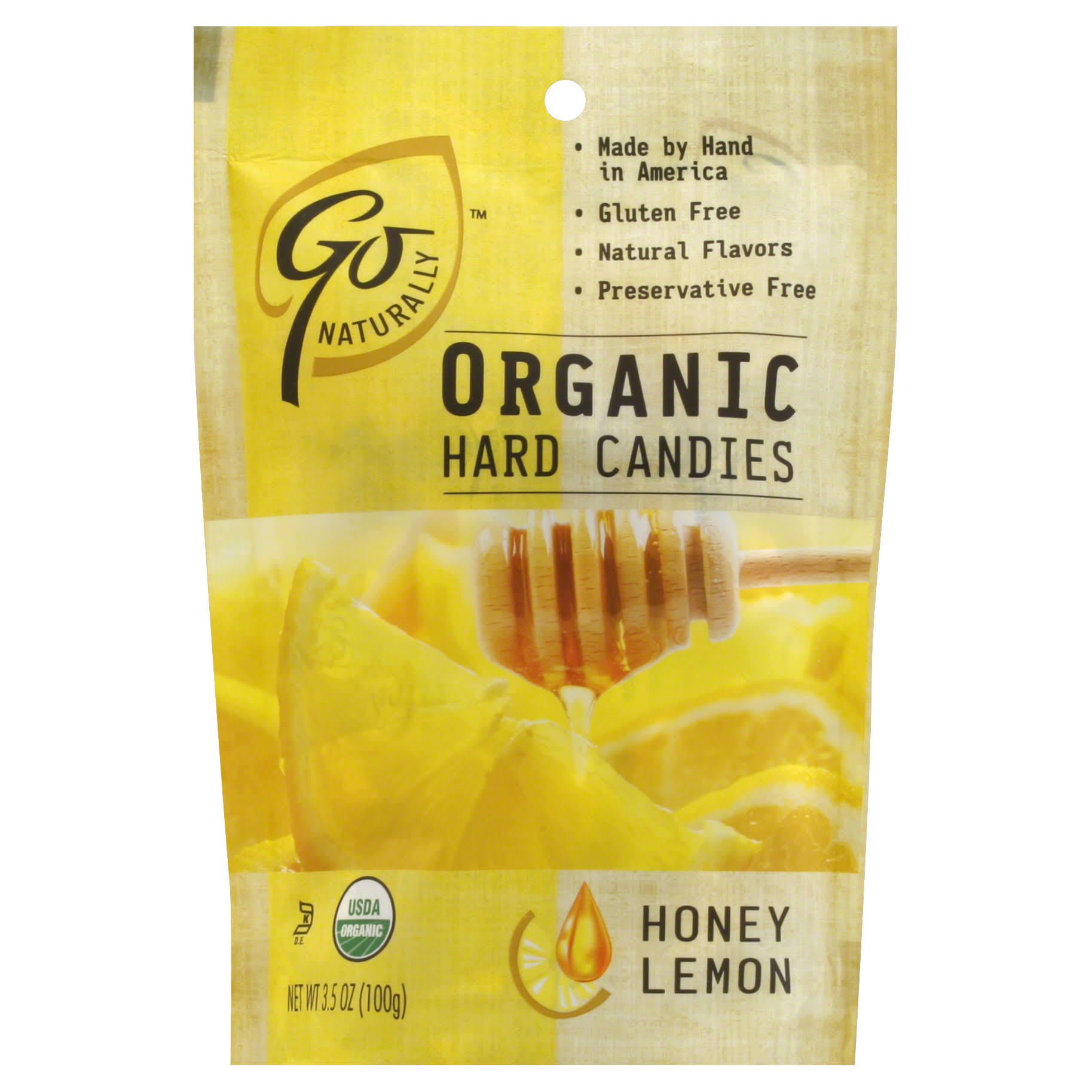 Organic Gluten Free Hard Candies - Honey Lemon