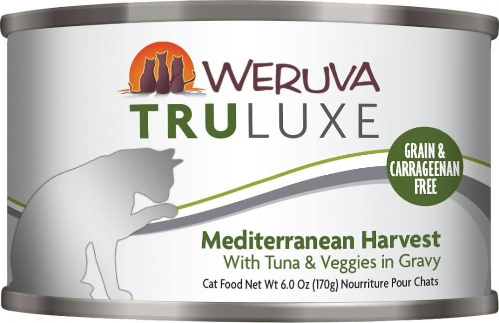 Weruva Grain Free Truluxe Canned Cat - Mediterranean Harvest, Adult