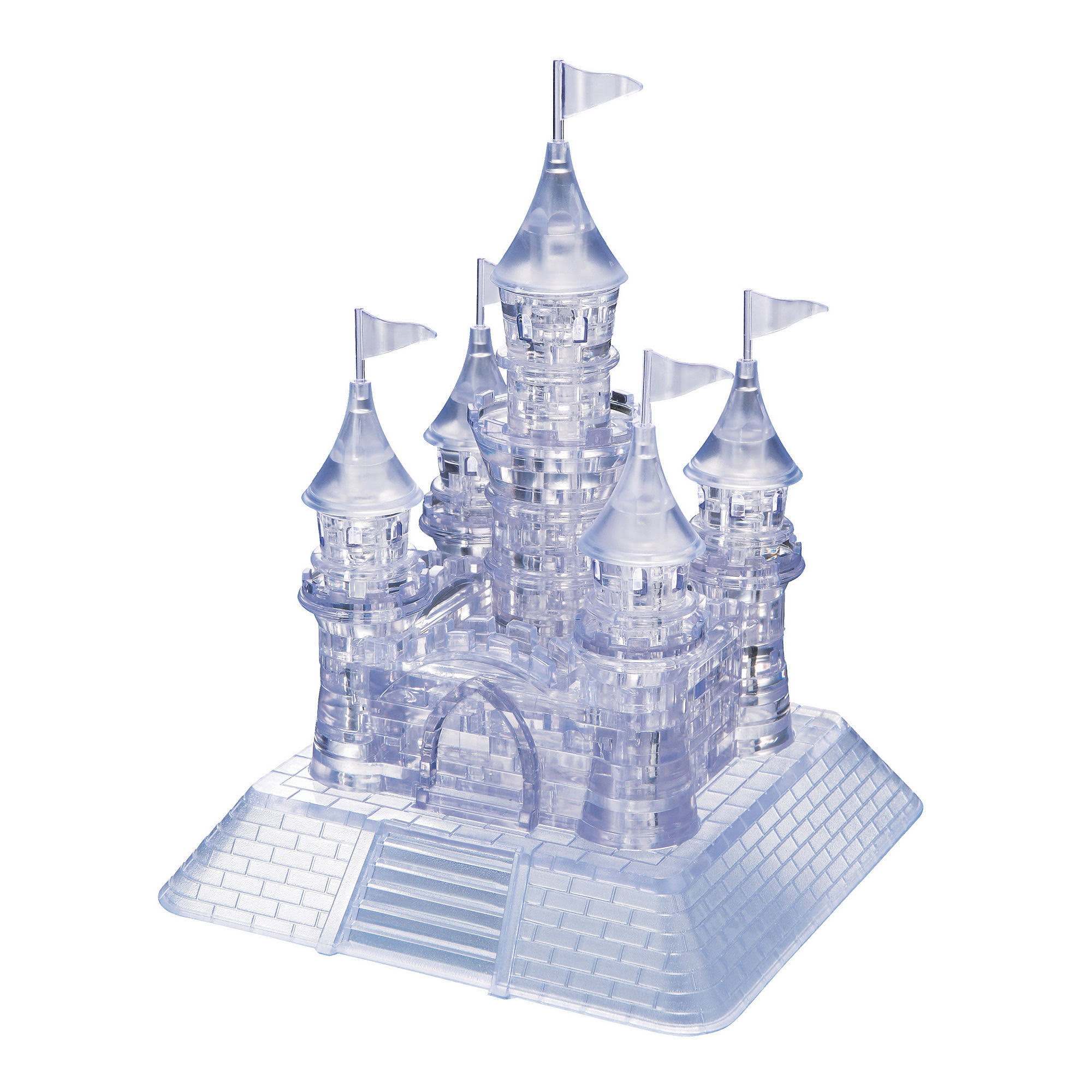 BePuzzled 3D Crystal Puzzle - Castle, 105pcs