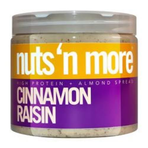 Nuts 'N More Almond Butter - Cinnamon Raisin