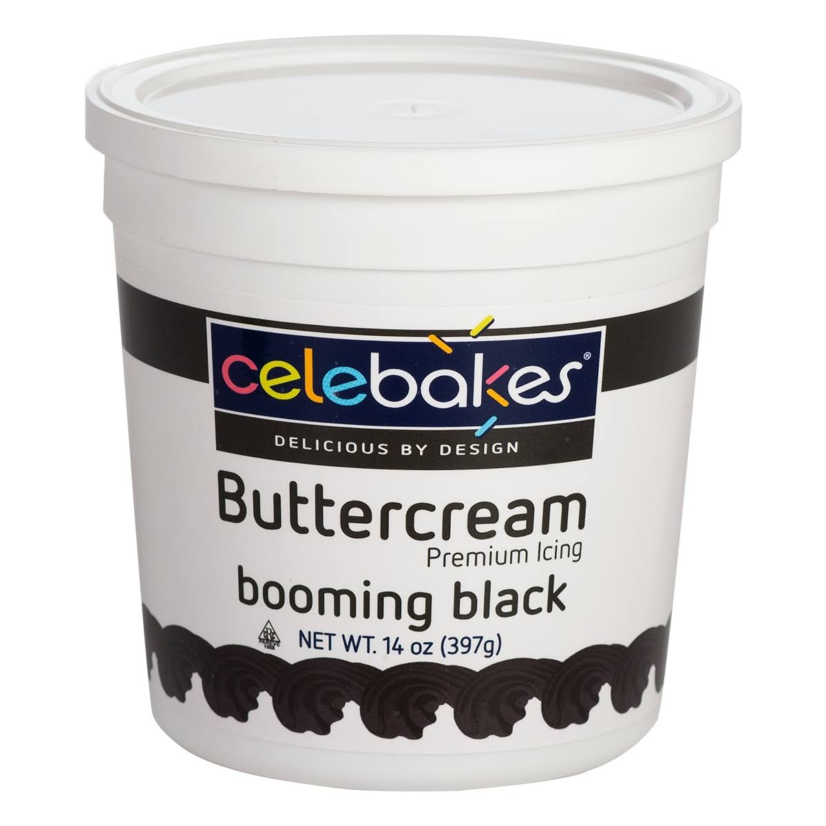 CK Products Black Buttercream Icing Pho Free 14 oz