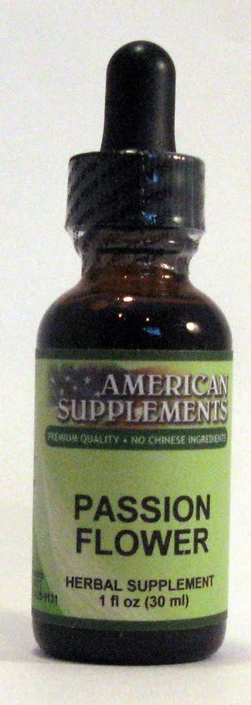 American Supplements Passion Flower - 1 oz Liquid