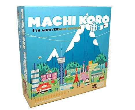 Pandasaurus Games Machi Koro 5th Anniversary Edition Board Game