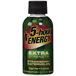 5-hour Energy Extra Strength Dietary Supplement - Strawberry Watermelon