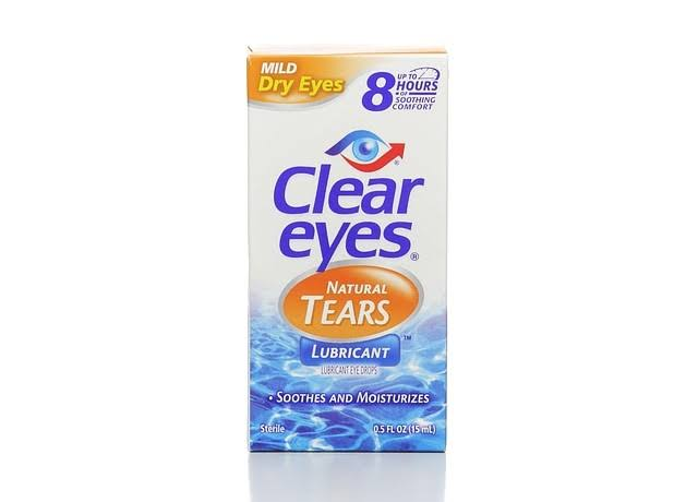 Clear Eyes Natural Tears Lubricant - .5oz