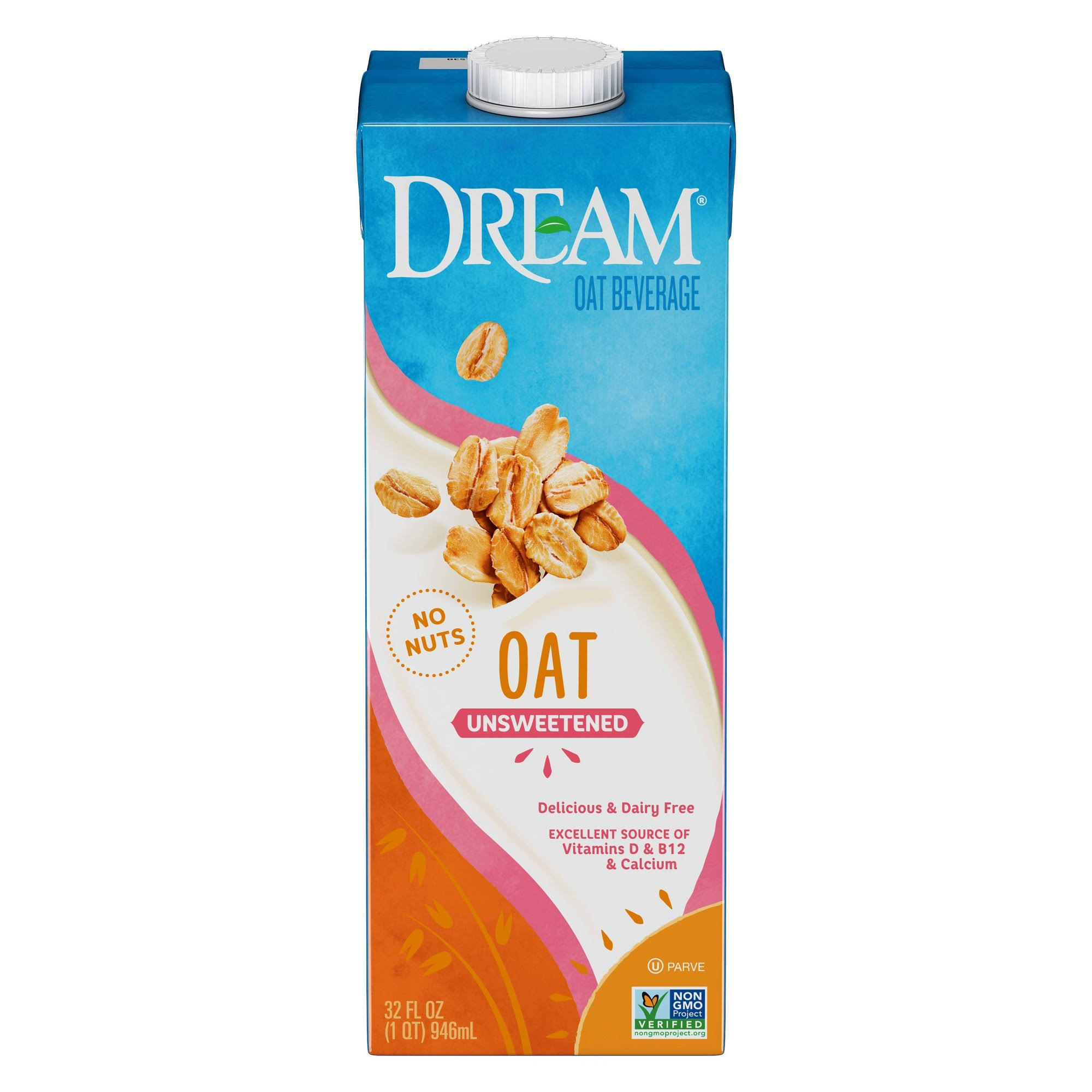 Dream Oat Beverage Unsweetened - 32 fl oz