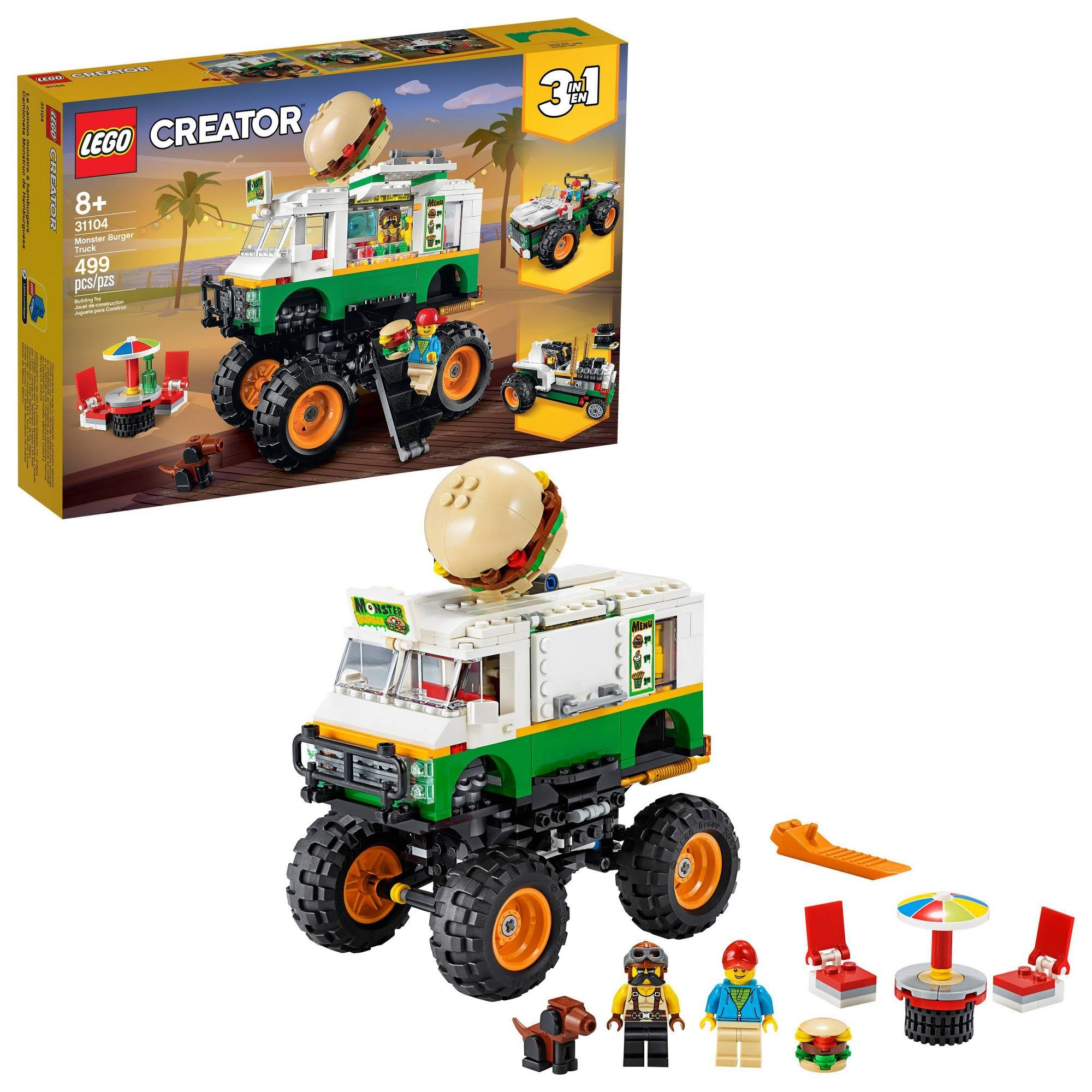 Lego Creator - Monster Burger Truck 31104