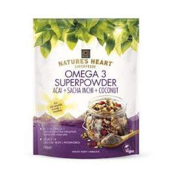 Natures Heart Omega 3 Super Powder 100g