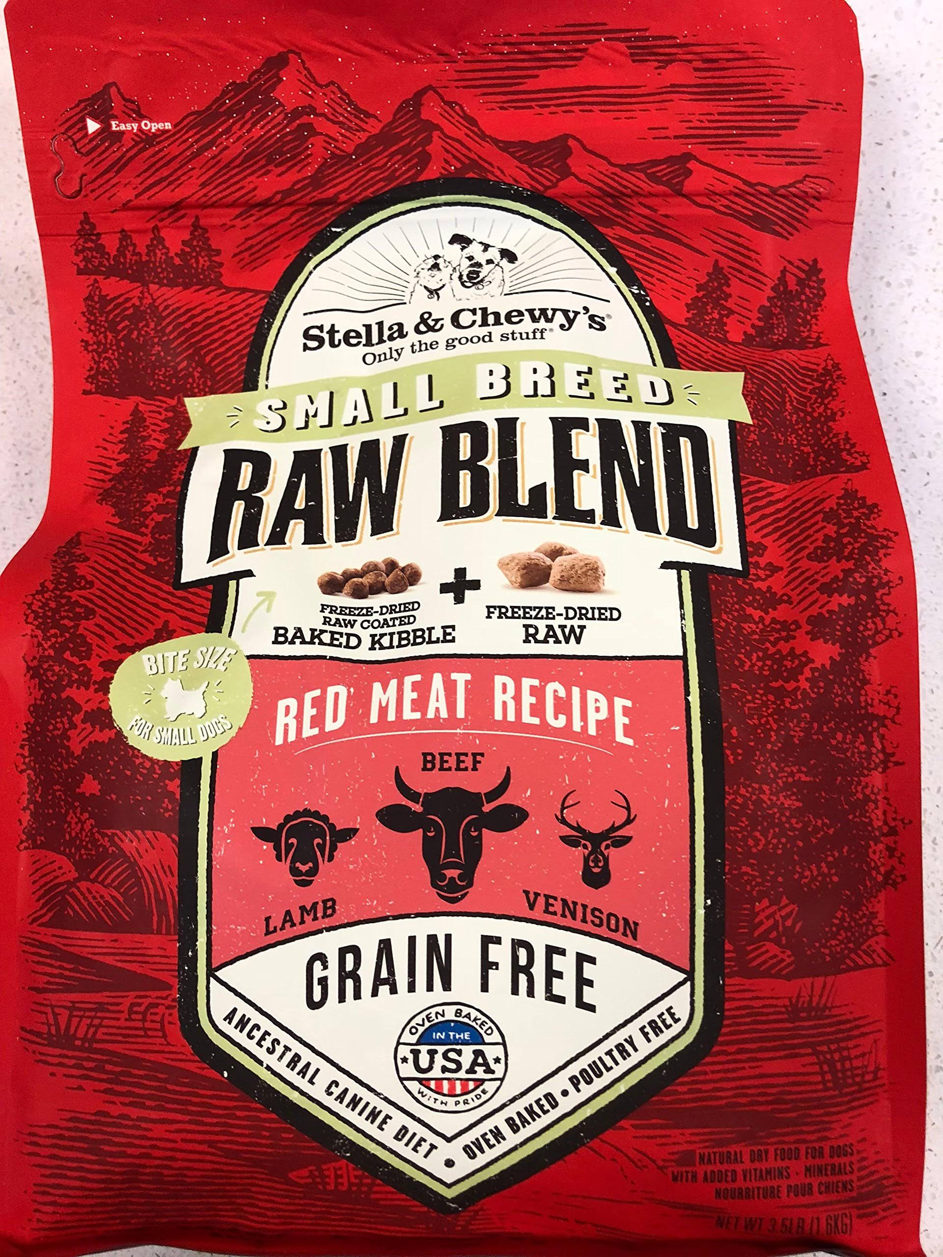 Stella & Chewy's Raw Blend Red Meat Small Breed Recipe 10lb Dry Dog Food