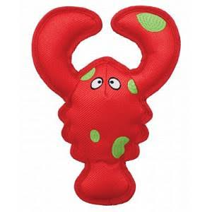 Kong Belly Flops Lobster Dog Toy