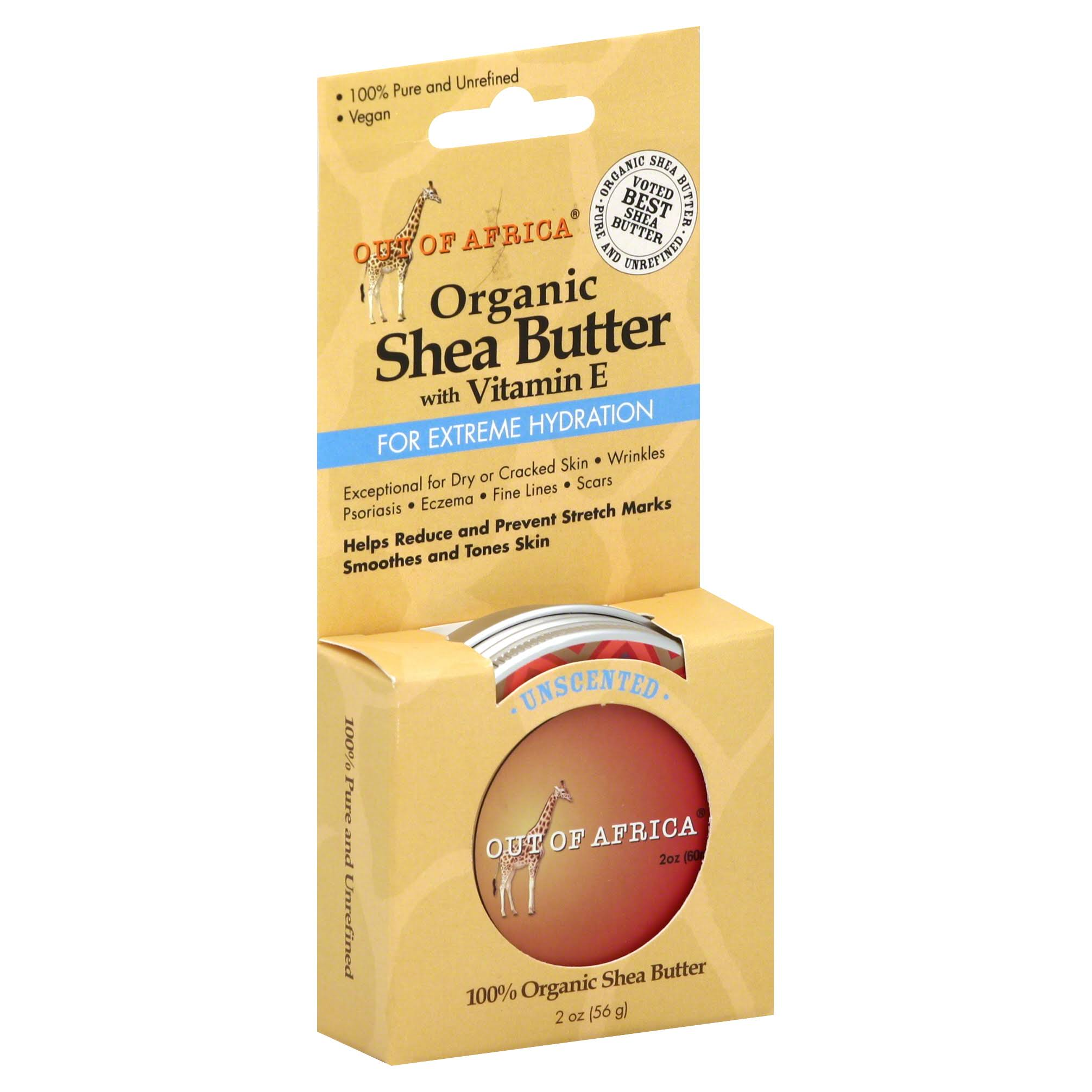 Out of Africa Shea Butter Tin - Unscented, 2oz
