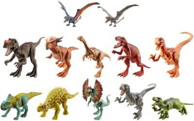 Jurassic World Attack Pack - Assorted