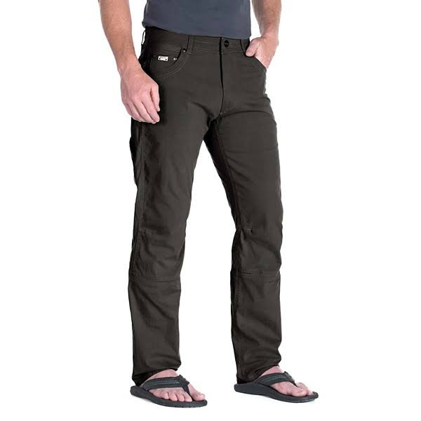 Kuhl Mens Radikl Cotton Pants - Carbon Grey, Size 36