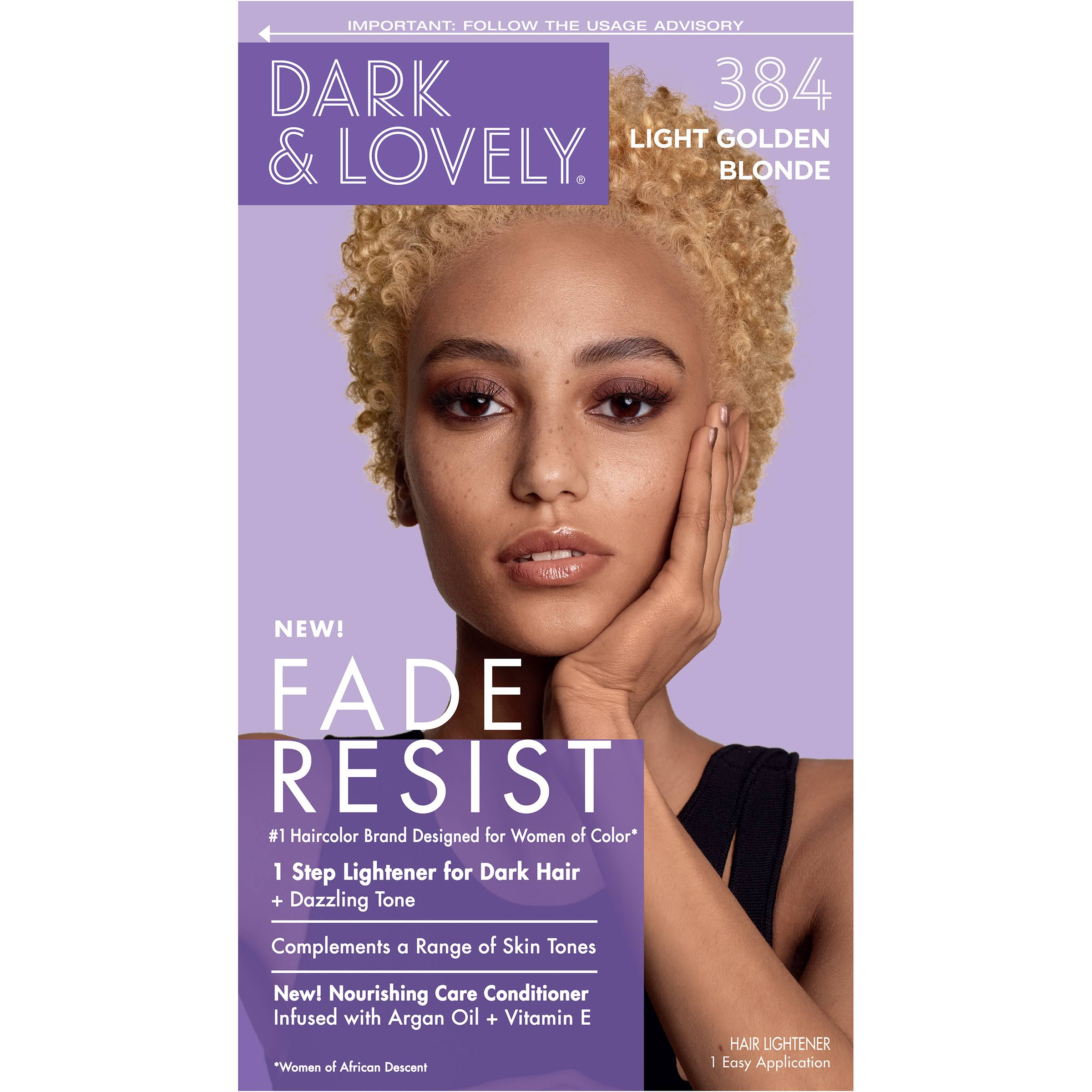 SoftSheen-Carson Dark & Lovely Color - 384 Light Golden Blonde