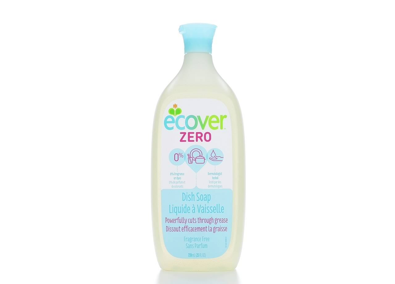 Ecover Liquid Dish Soap - Fragrance Free, 25oz